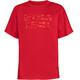 VAUDE Fulmar T-Shirt Bambino rosso